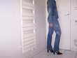 """Ensemble jean""""ANNE Elisabeth""""série limitée,vintage:Taille 40 Occasion Vêtements"""