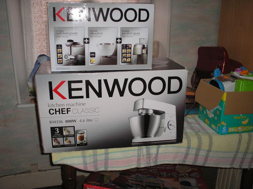 charme de coût style populaire plus de photos ensemble kenwood robot+ 3 accessoires