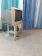 Ensemble TV + Meuble TV + Lecteur DVD vintage