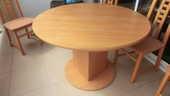ENSEMBLE MEUBLE SALON, TABLE ET CHAISES 120 Dax (40)