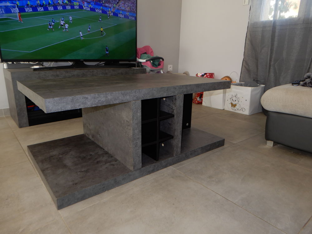 design de qualité 5b4ab aee70 Ensemble meubles (Meuble TV+Table basse+Buffet)