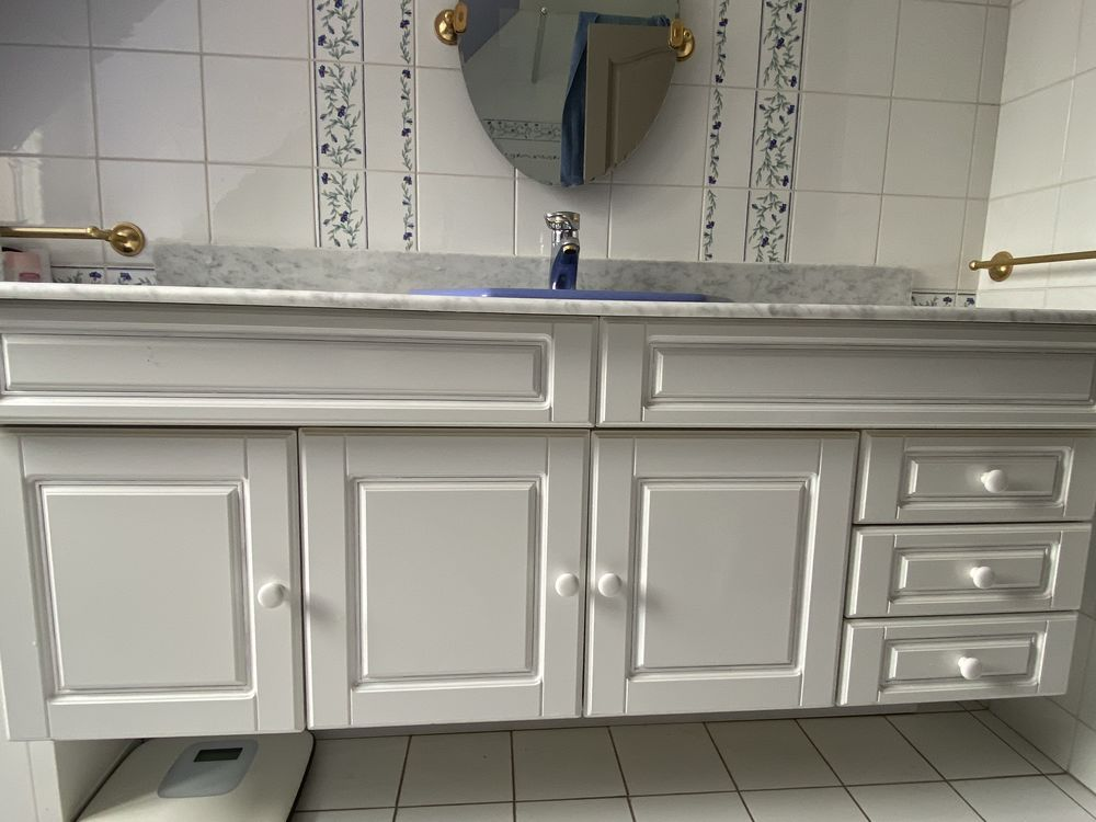 Ensemble mobilier salle de bains 50 Gouvernes (77)