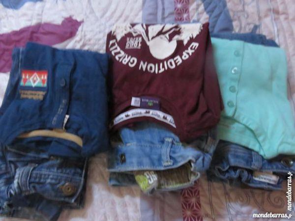 6 ensemble pantalons et tee-shirt garçons 40 Marseille 9 (13)