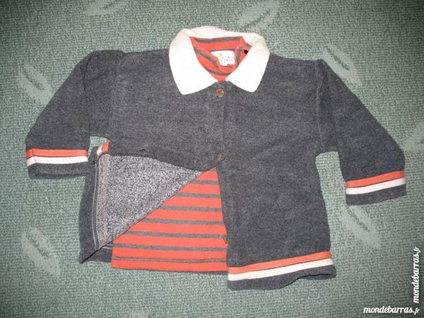 Ensemble 2 pièces : Tee-shirt + Gilet - 12 mois Vêtements enfants