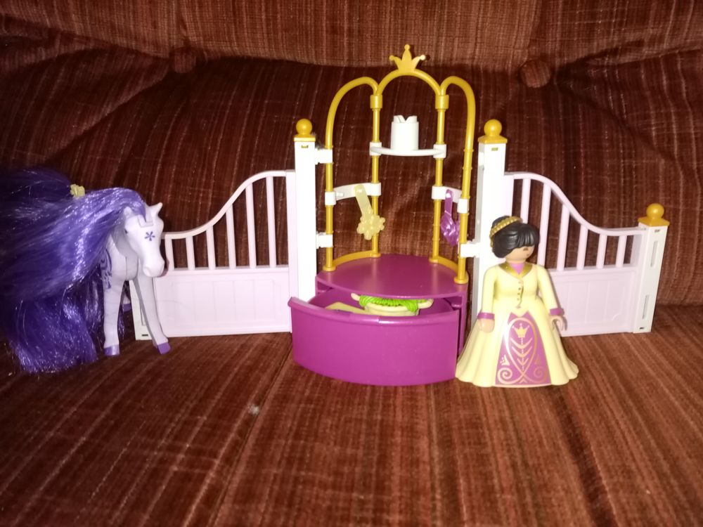 ensemble playmobil princesse 10 Saint-Vallier (71)