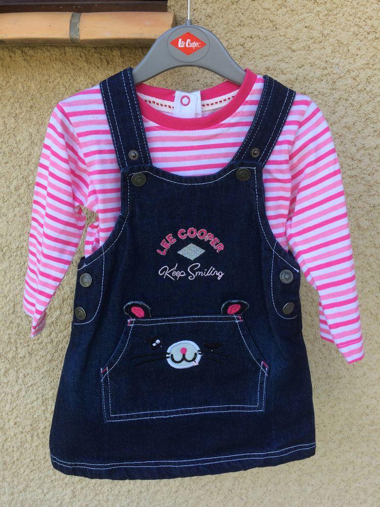 Ensemble robe + tee shirt «Lee Cooper» neuf Vêtements enfants