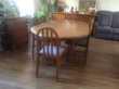 Ensemble salle à manger en orme massif. Meubles