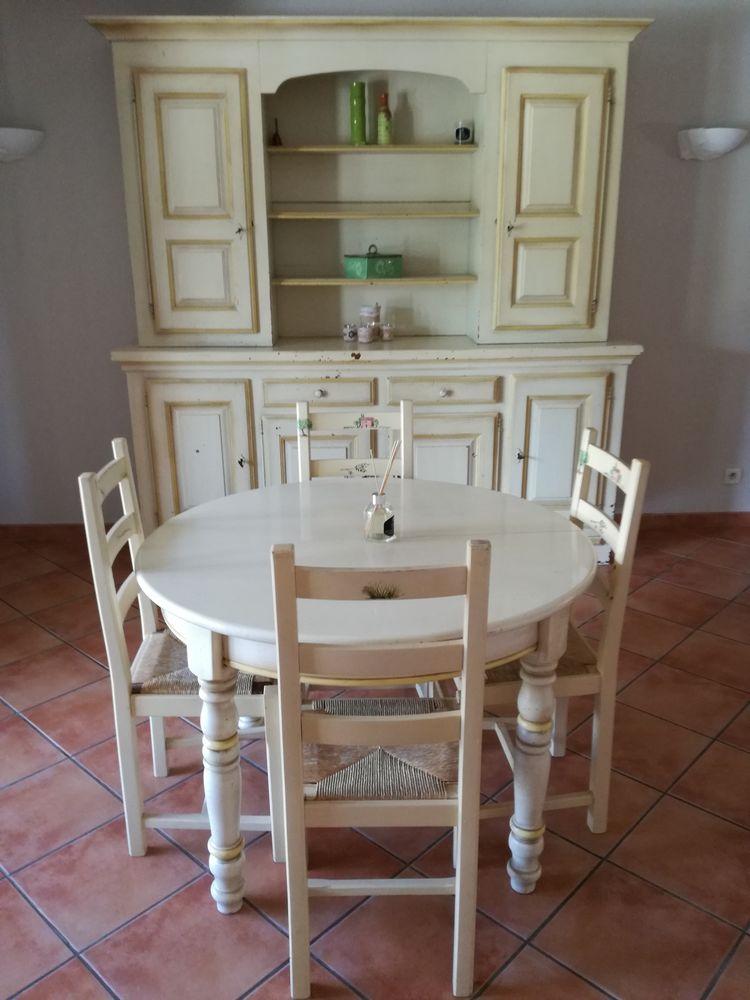 Ensemble salle à manger  chêne massif 300 Saint-Paul-en-Forêt (83)