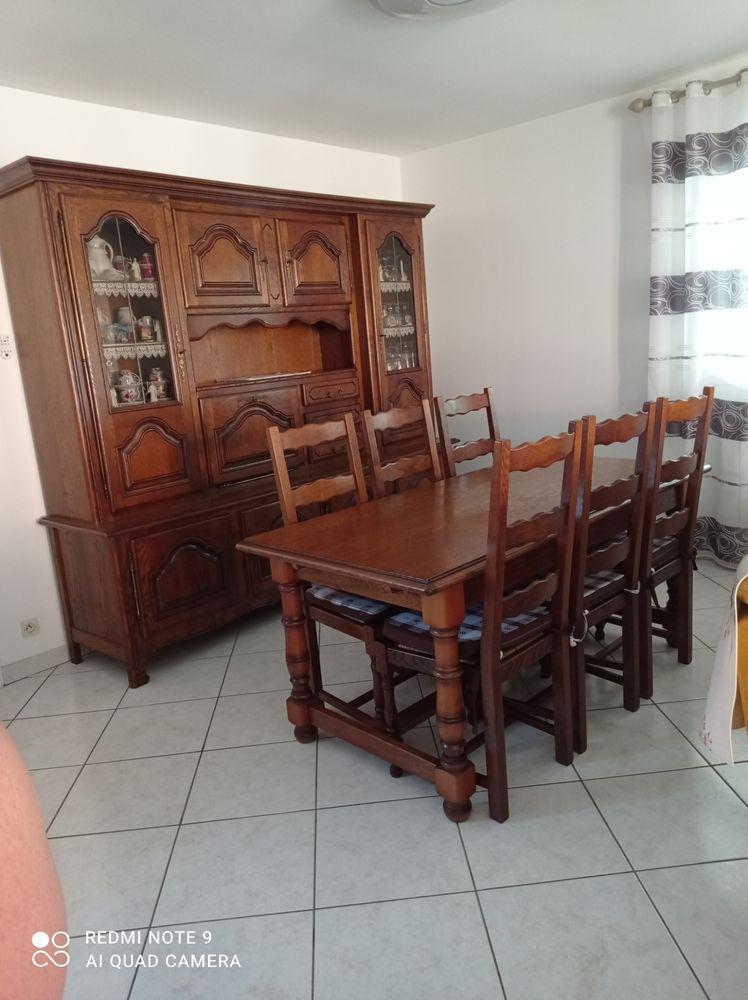 Ensemble salle à manger en chêne  600 Rion-des-Landes (40)