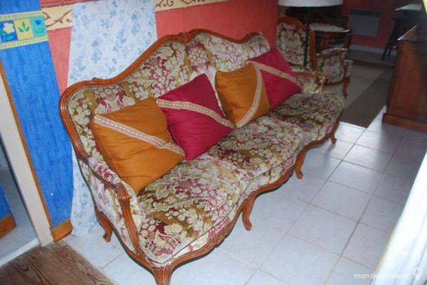 Ensemble salon, canapé et 2 fauteuils Meubles