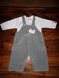 Ensemble salopette bébé Sucre d'Orge 3 mois (60 cm)