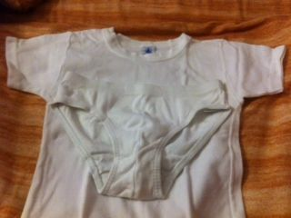 Ensemble sous vêtement blanc PETIT BATEAU 8 ans 9 Phalsbourg (57)