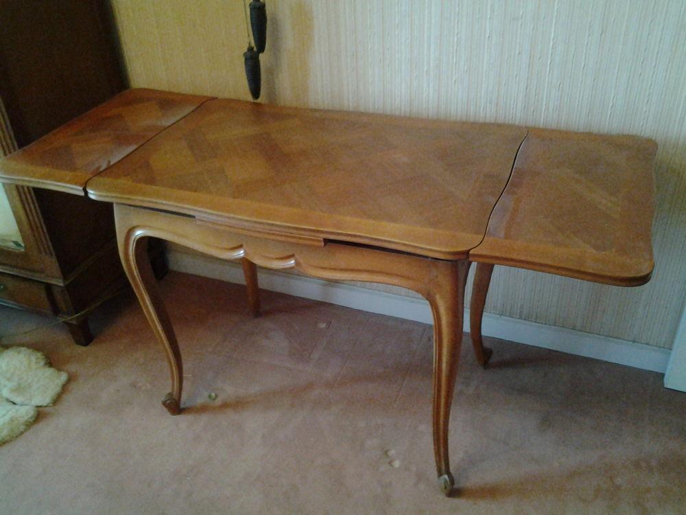 ensemble table et 4 chaises merisier style régence 50 Bois-d'Arcy (78)