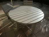 ensemble table chaises Terrasse 0 Annecy (74)