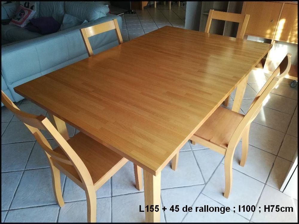 Ensemble Table et 4 chaises 100 Semoy (45)