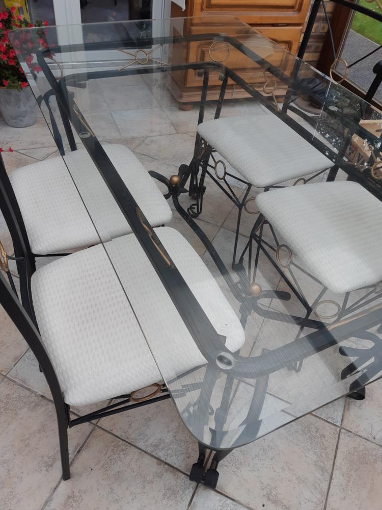 ensemble table et chaises Bella Roma 140 Tergnier (02)