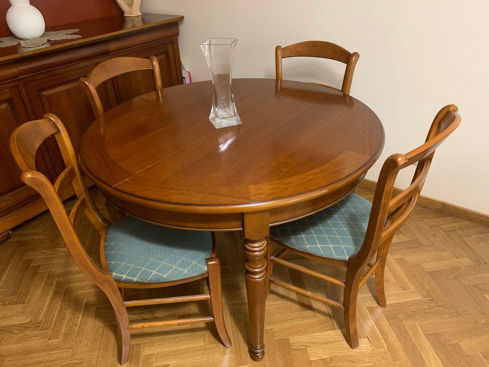 Ensemble table + 4 chaises + buffet en merisier 0 Suresnes (92)