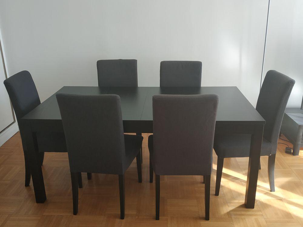 Ensemble Table + 6 chaises Très bon état 249 Boulogne-Billancourt (92)