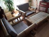 ensemble table et fauteuils bambou  190 Lunéville (54)