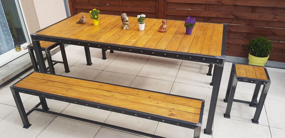Ensemble table industrielle 0 Saverne (67)