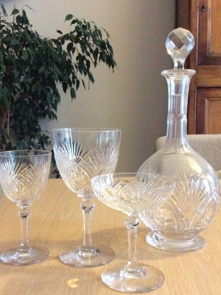 Achetez ensemble verres occasion annonce vente ch teauroux 36 wb155739011 - Verres anciens en cristal ...