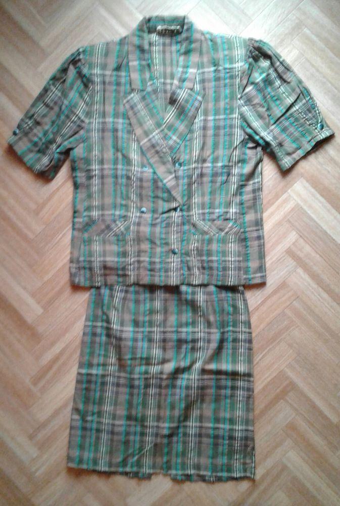 ensemble veste + jupe 10 Cramont (80)