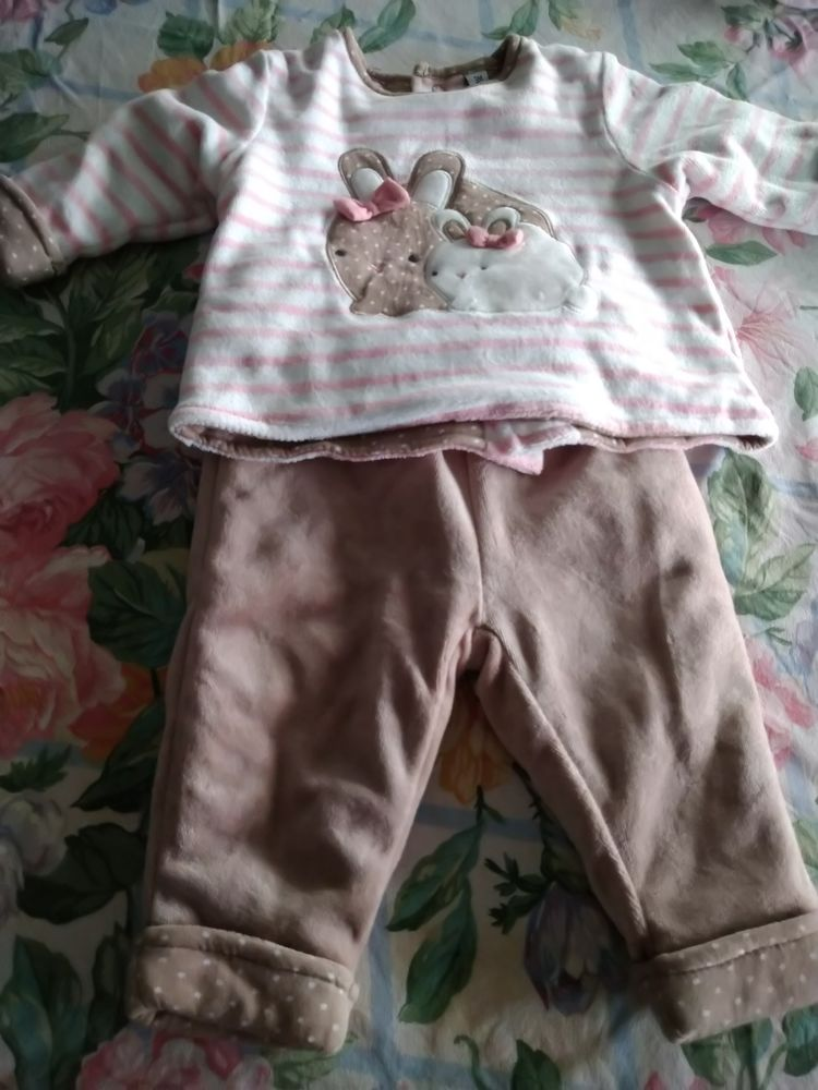 Lot de 4 ensemble vêtements bébé de 0 à 3 mois(hiver) 20 Essey-lès-Nancy (54)