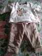 Lot de 4 ensemble vêtements bébé de 0 à 3 mois(hiver) Vêtements enfants
