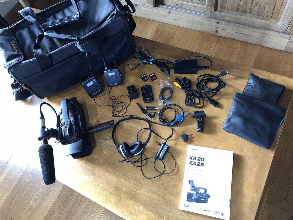 ENSEMBLE VIDEO REPORTAGE PRO ETAT NEUF 1800 Noisy-le-Grand (93)