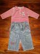 Lot de 2 ensembles garçon - 3 mois (60 cm)