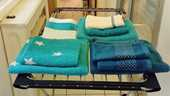 Ensembles de serviettes de bains  10 Bordeaux (33)