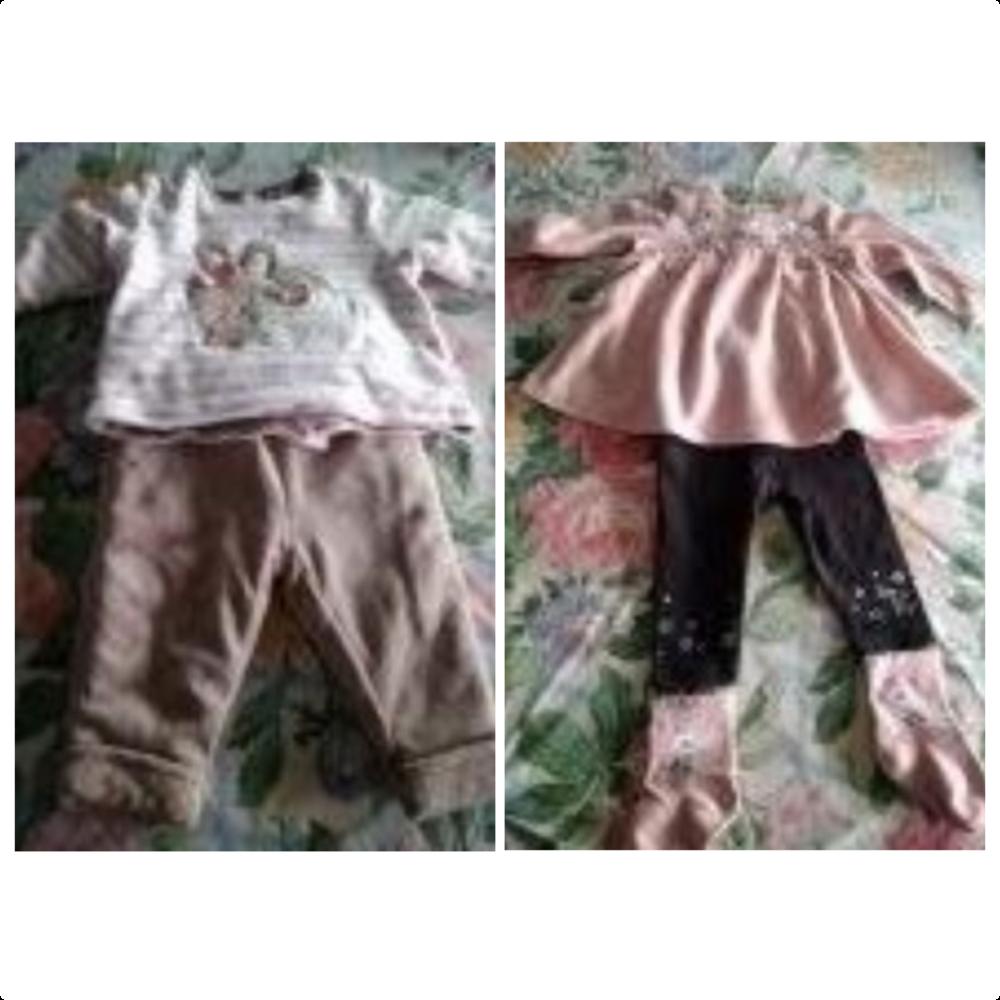 Lot de 5 ensembles vêtements bébé de 0 à 6 mois 20 Essey-lès-Nancy (54)