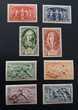 Entre 851 et 862 timbres avec charnière