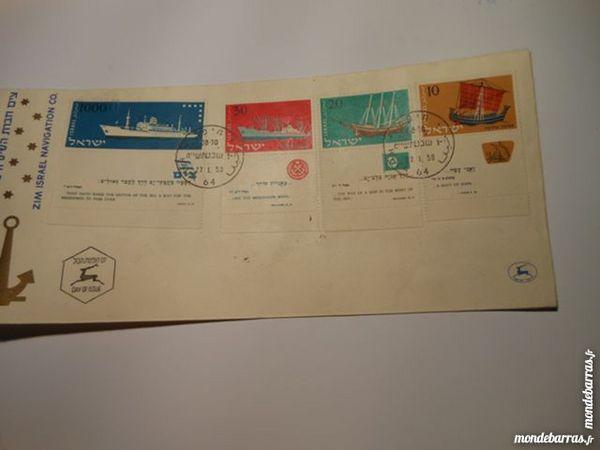 enveloppe FDC marine Israel 1959 15p59