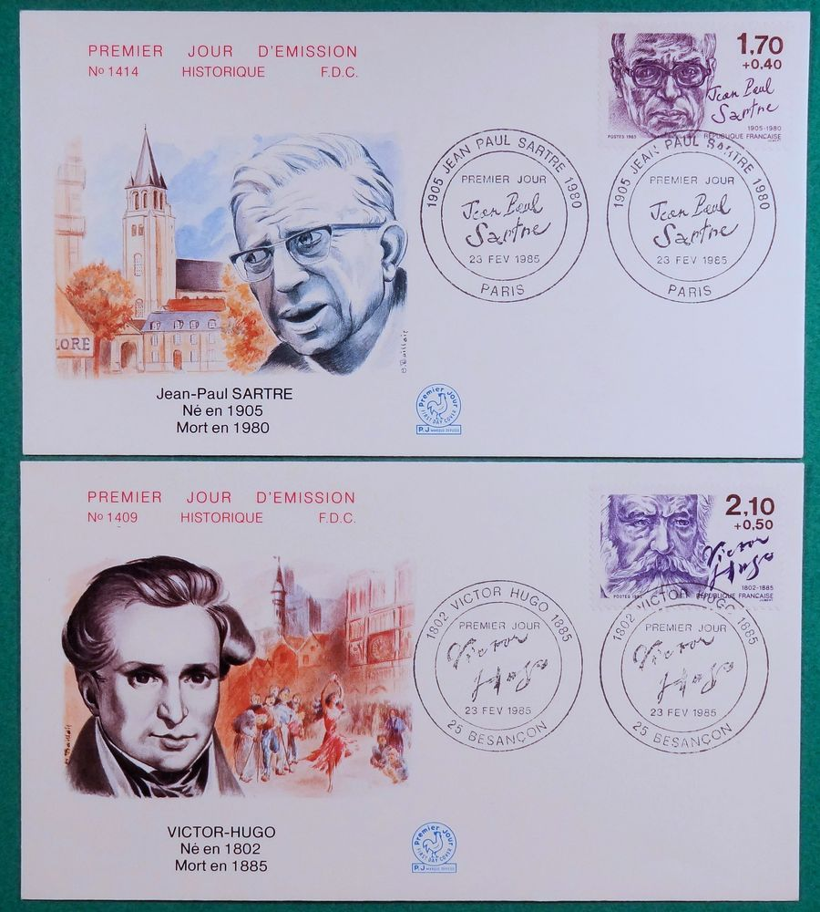 6 enveloppes 1er jour lot pj26 4 Chaumontel (95)