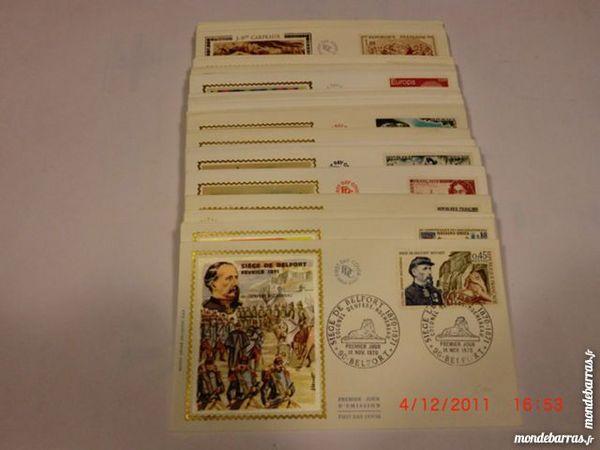 Enveloppes premier jour FDC année 1970 p11