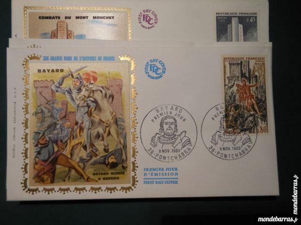 lot enveloppes premier jour FDC 1969    p11 32 Grézieu-la-Varenne (69)