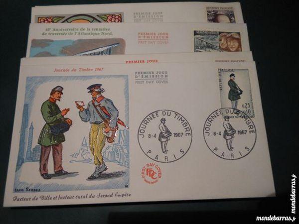 lot enveloppes premier jour FDC 1967    p11 23 Grézieu-la-Varenne (69)