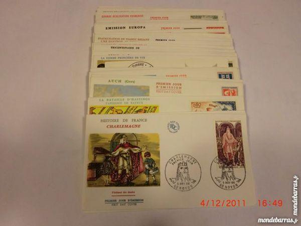 lot enveloppes premier jour FDC 1966 p12
