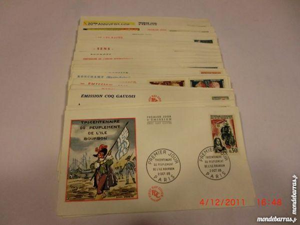 lot enveloppes premier jour FDC 1965   p12 34 Grézieu-la-Varenne (69)