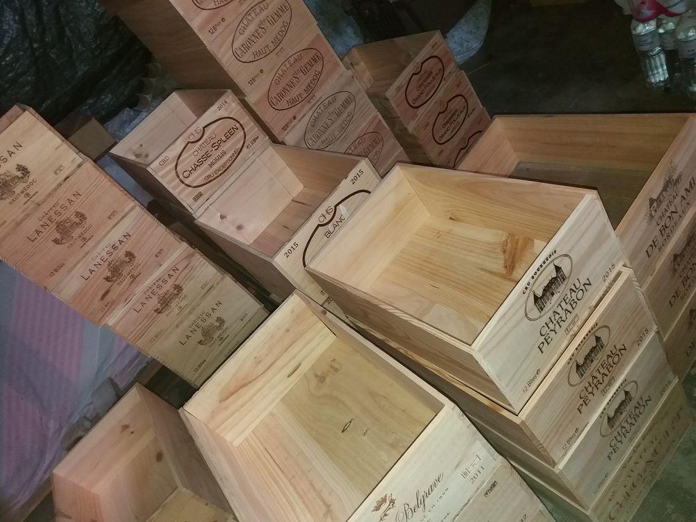 Envoi de caisses de vin bois 5 Niort (79)