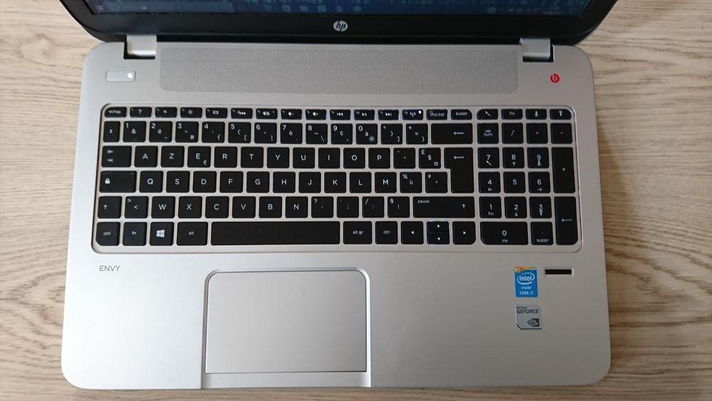 HP envy 15 PC Windows 10 Nvidia 840 M i7 Matériel informatique