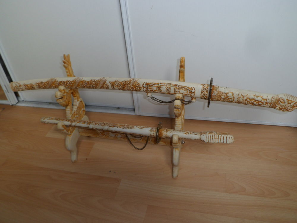 lot epees chinoise sur socle 30 Sailly-lez-Cambrai (59)
