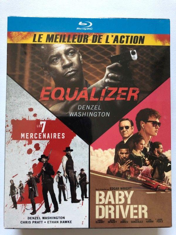 blu-ray - equalizer, baby driver, les 7 mercenaires 14 Saint-Julien-lès-Metz (57)