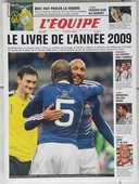 L'EQUIPE - Livre de l'année 2009 - Neuf 13 Foncine-le-Haut (39)