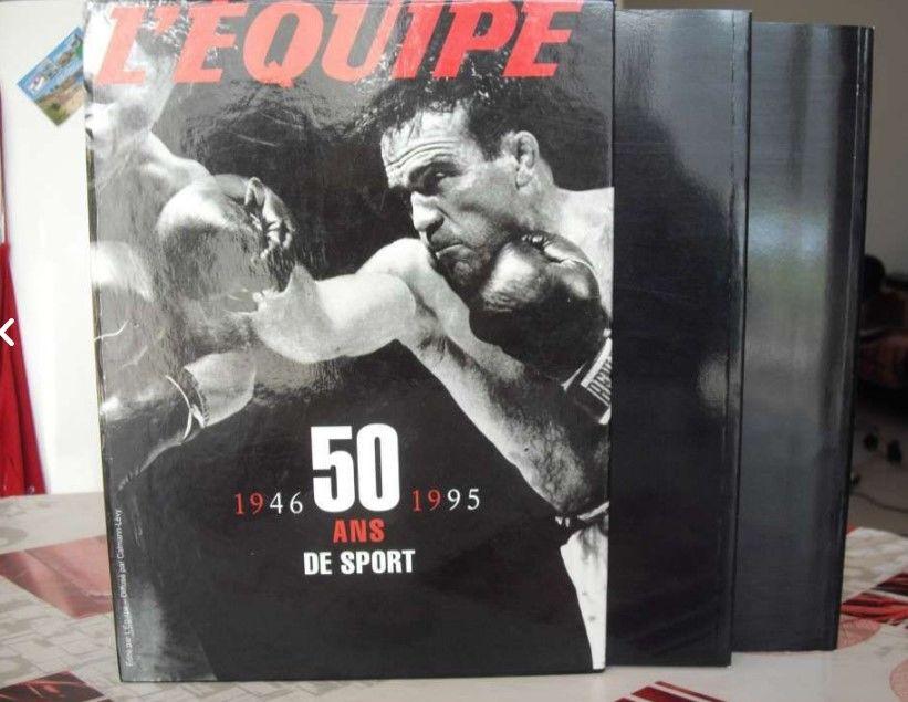 L'Equipe 50 ans de Sport (1946 à 1995) (Coffret 2 livres) 12 Machecoul (44)