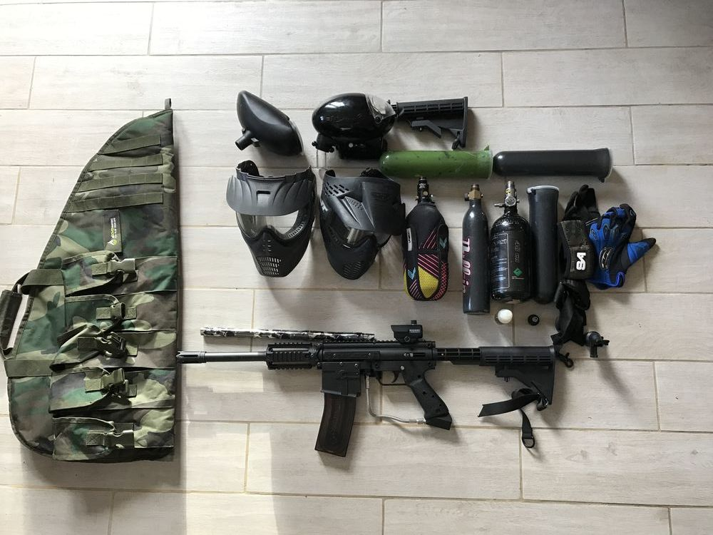 Equipement complet airsoft d'occasion