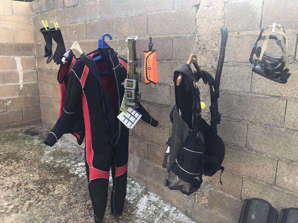 Équipement complet plongée  350 Luray (28)