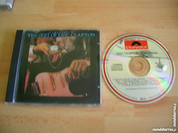 CD ERIC CLAPTON The Best Of Time Pieces 7 Nantes (44)