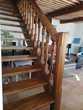 Escalier en bois massif, très cossu  1550 Cavaillon (84)